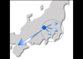 関東・中京・関西の輸送ならお任せ